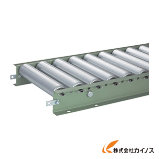 TRUSCO スチールローラーコンベヤ Φ57 W300XP75XL3000 VR-5714-300-75-3000