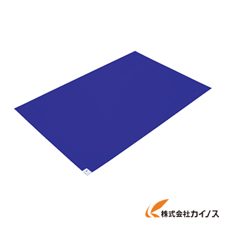 TRUSCO 粘着クリーンマット 600X450MM ブルー 20シート入 CM6045-20B