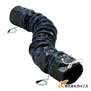 TRUSCO フレキシブルダクト 帯電防止タイプ アース付 Φ320X長さ5m RFA-320