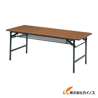 TRUSCO 折りたたみ会議テーブル 1500X750XH700 チーク 1575