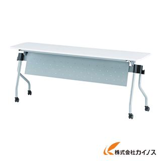 TOKIO 天板跳上式並行スタックテーブル(パネル付) NTA-N1860P-W