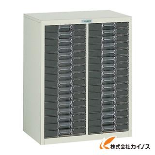 TRUSCO カタログケース 浅型2列16段 560X360XH700 LA2C16