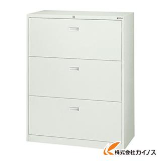 TRUSCO スタンダード書庫(A4判D400) ラテラル3段 H1110 FA40-G11