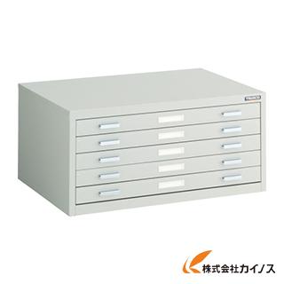 TRUSCO マップケース スチール A2X5段 696X480XH330 A2-1W5
