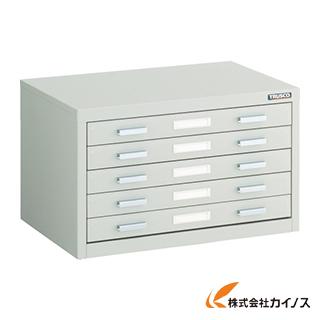 TRUSCO マップケース スチール A3X5段 541X360XH330 A3-1W5