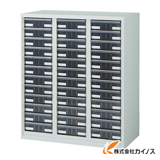 TRUSCO U型壁面書庫 カタログケース 引出A4 深X36 W色 URW-1132A