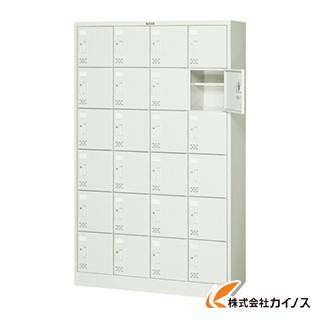 TRUSCO シューズケース 24人用 1050X380XH1700 シリンダ錠 SC-24WA