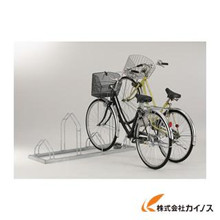 【日本製】 カイノス ダイケン 平置き自転車ラック前輪差込式サイクルスタンド 店 CS-ML6:三河機工 6台収容ピッチ600-DIY・工具