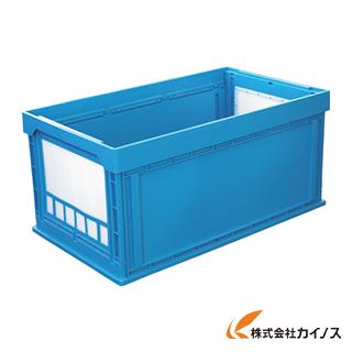 """KUNIMORI プラスチック折畳みコンテナ """"パタコン"""" N-150 ブルー 50200-N150-B"""