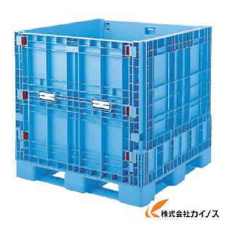 リス パレットボックスBJB-S・1111X110 折りたたみ ブルー BJBS1111X110 B