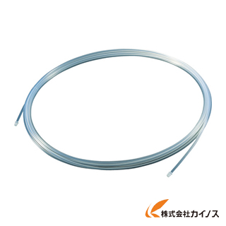 TRUSCO フッ素樹脂チューブ 内径6mmX外径8mm 長さ20m TPFA8-20