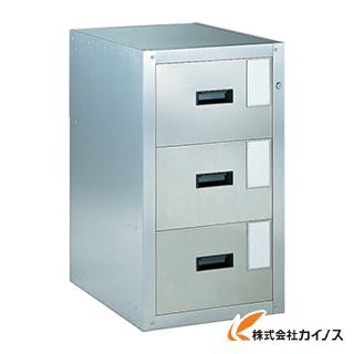 TRUSCO 耐震薬品庫 455X600XH800 3段引出型 SY-3