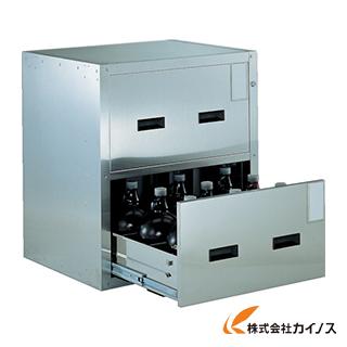 TRUSCO 耐震薬品庫 705X600XH800 2段引出型 SYW-2