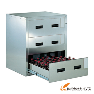 TRUSCO 耐震薬品庫 705X600XH800 3段引出型 SYW-3