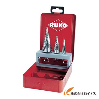 【送料無料】 RUKO 2枚刃スパイラルステップドリルセット 3本組 ハイス 101026 【最安値挑戦 激安 通販 おすすめ 人気 価格 安い おしゃれ】