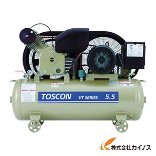 東芝 タンクマウントシリーズ 給油式 コンプレッサ(低圧) VT105-37T VT10537T 【最安値挑戦 激安 通販 おすすめ 人気 価格 安い おしゃれ】