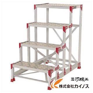 ピカ 作業台 ZG-P型縞板仕様 4段 幅60cm高さ100cm ZG-4610P ZG4610P 【最安値挑戦 激安 通販 おすすめ 人気 価格 安い おしゃれ】