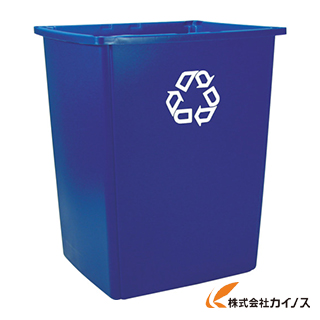 【送料無料】 ラバーメイド グラットンリサイクルコンテナ ブルー 256B7365 (4個) 【最安値挑戦 激安 通販 おすすめ 人気 価格 安い おしゃれ】