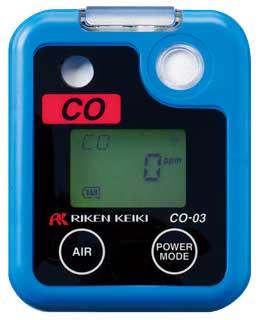 理研 ポケッタブル一酸化炭素モニター CO-03 ポケッタブルガスモニター 単成分ガス検知用 【CO-01の後継機種 激安 通販 おすすめ 人気 価格 安い】