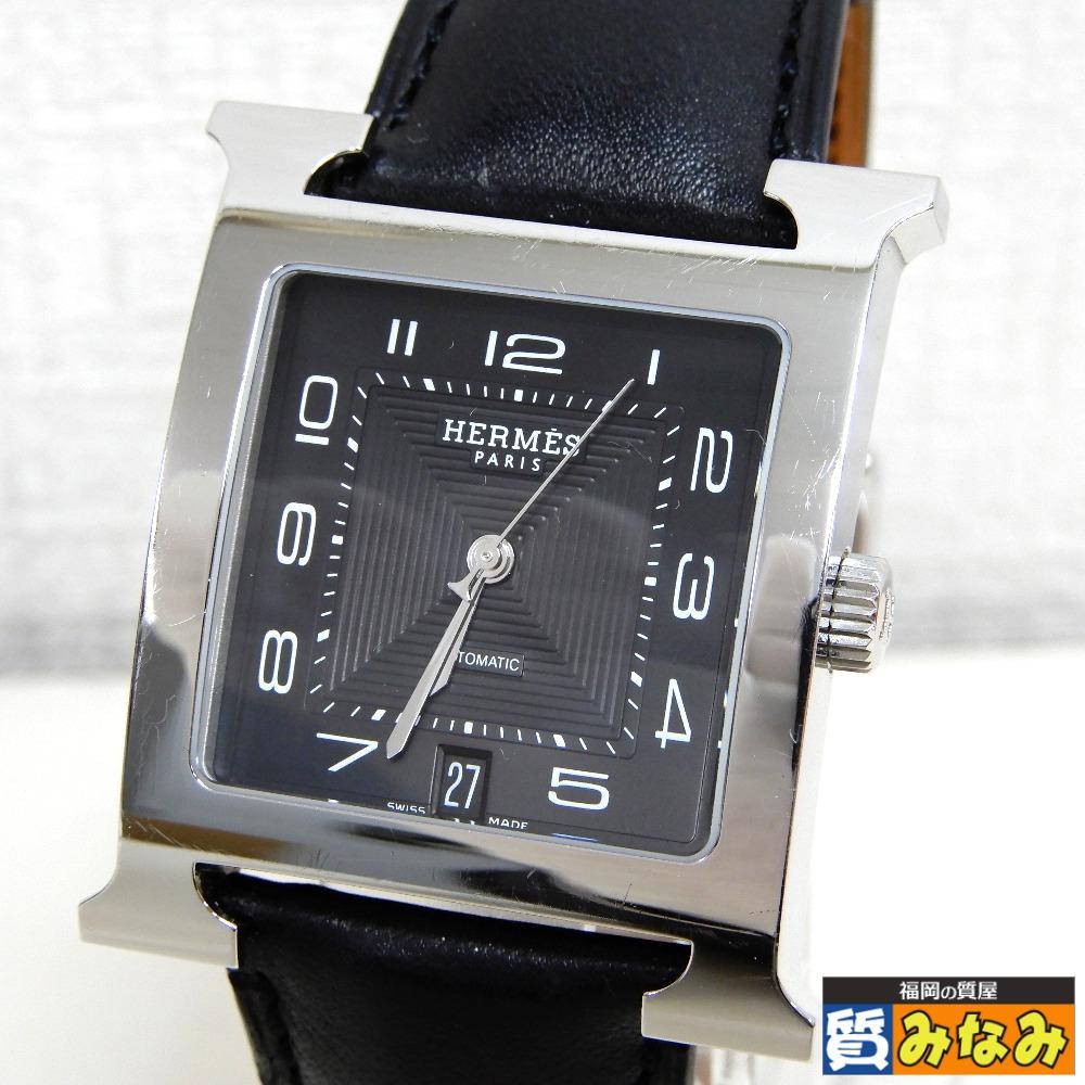 Dz731021 HERMES(エルメス) Hウォッチ 腕時計 HH2.810【質みなみ・太宰府店】 【中古】美品