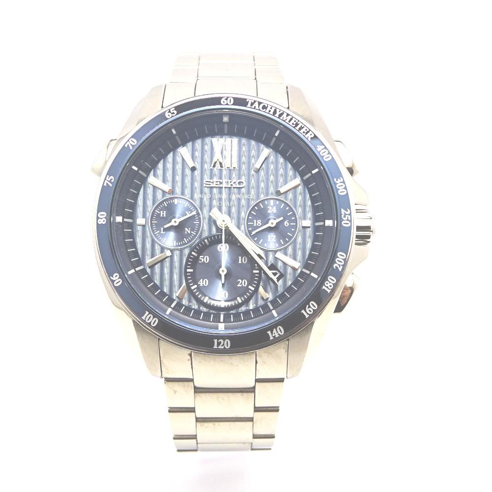 セイコー 腕時計 ブライツ SAGA151 ブルー系文字盤【質みなみ・二又瀬店】【質屋】 SEIKO 【中古】 Ft870231