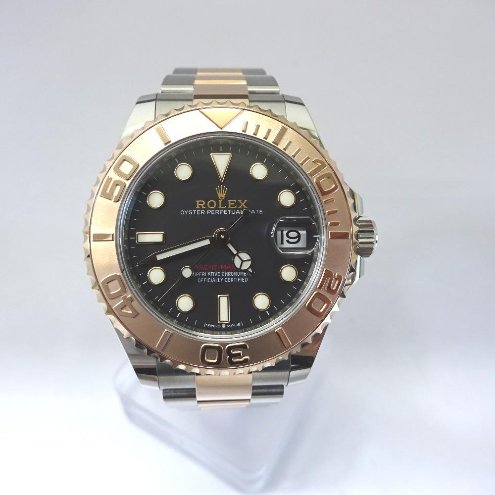 ロレックス 腕時計 ランダム ヨットマスター 268621 ブラック文字盤【質みなみ・二又瀬店】【質屋】 ROLEX 【中古】 Ft537521