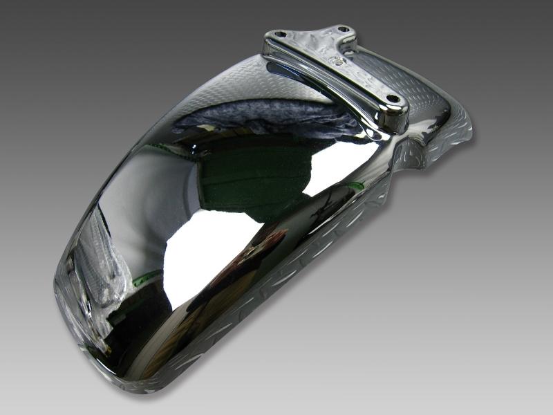 即日出荷 ニ万円以上送料無料 メーカー在庫限り品 APE50 100用フロントフェンダークロームメッキ Minimoto ホンダ4miniパーツ ミニモト ギフ_包装