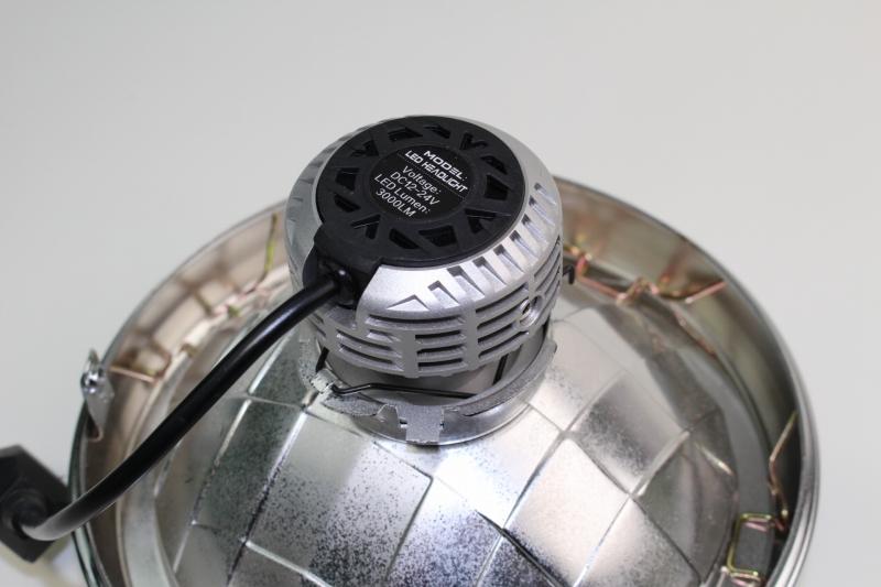 오토바이 전용 슈퍼 LED 헤드라이트 킷 H4직류 전원 자동차용 NO5036