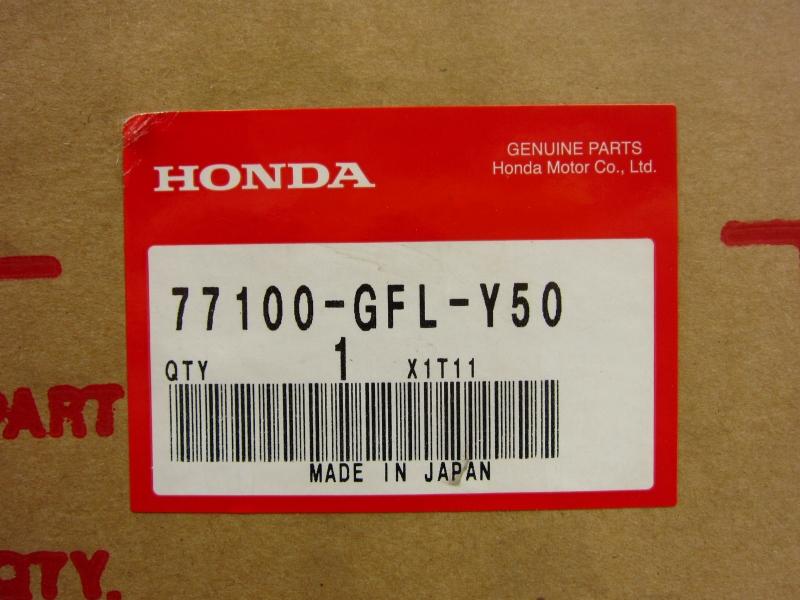 Honda genuine monkey sheet 77100-GFL-Y50 NO4755