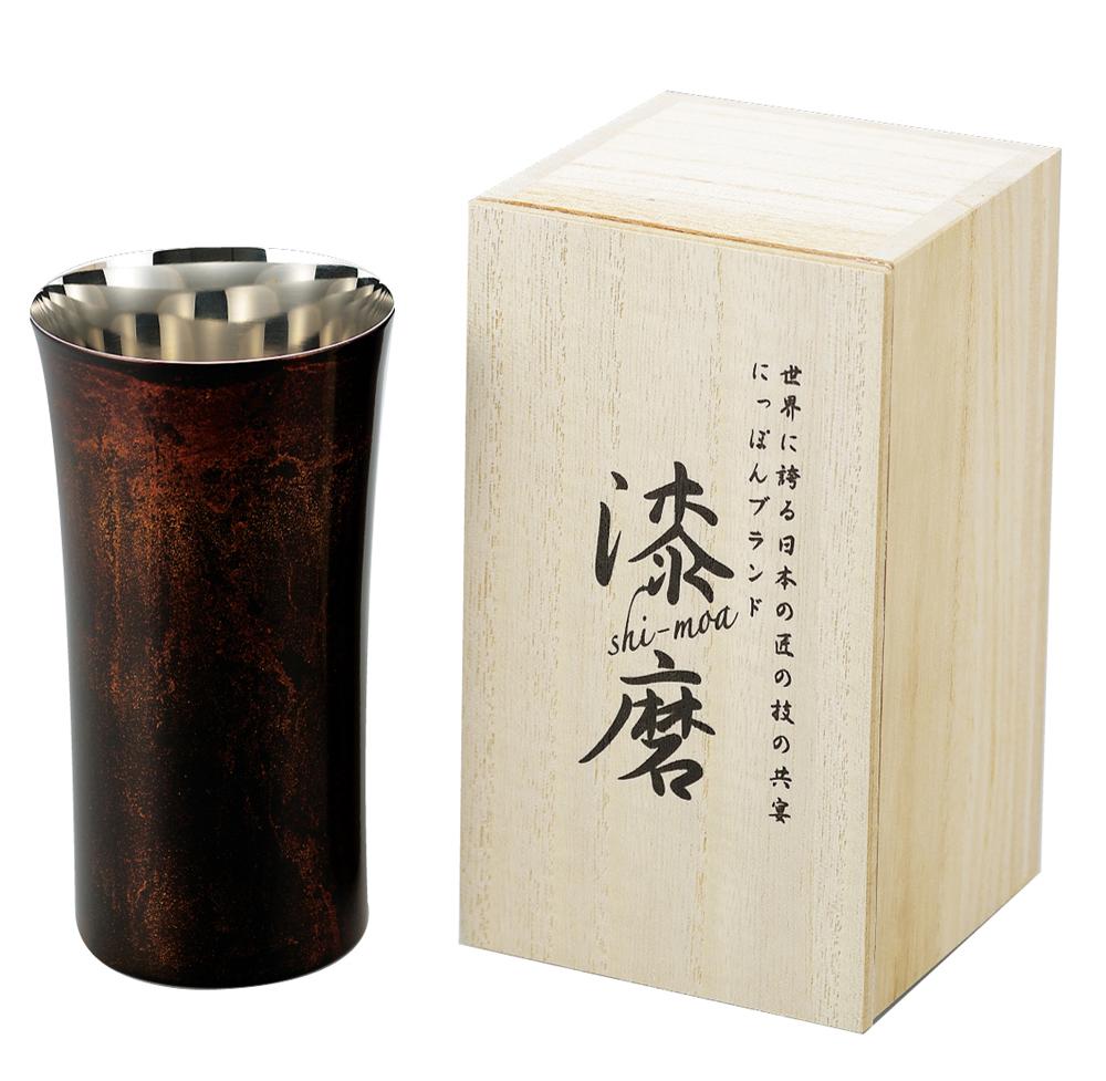 シングルカップS(1客)(黒)(桐箱入り)