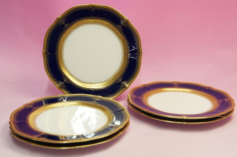 ノリタケ・ダイヤモンドコレクション #5535 イナギュレーション ケーキ皿5枚セット