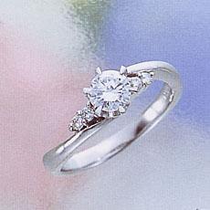 【婚約指輪】限りない愛の証 エンゲージリング0.3ctVS(2-2)