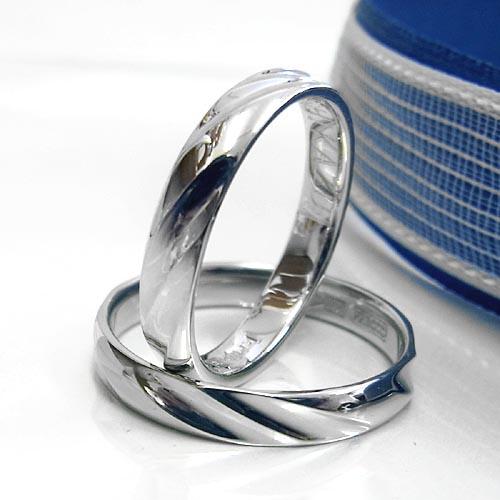 【結婚指輪:ペア価格】プラチナ1000 ツヤあり:マリッジ ペアリング/造幣局刻印