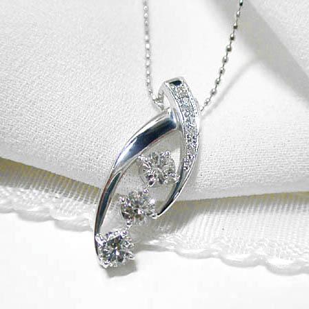 【驚きの価格が実現!】 0.65ctダイヤモンドお洒落なプラチナ900ネックレス【smtb-TD】【saitama】, お部屋の大将:250cf011 --- uniquefinmart.com