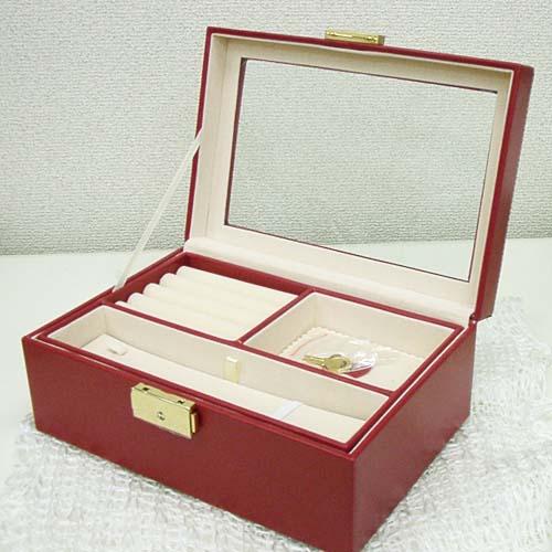 しっかり大きめ宝石箱 (ジュエリーボックス)