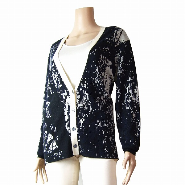 Paul blend spring fantasy M9 summer mosaic equivalencyblack knit Lady's smith X winter pattern white Smith cardigan paul silk and 7mIYgf6byv