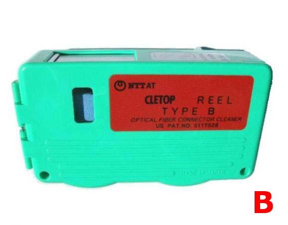 NTT-AT 光コネクタクリーナ CLETOP(クレトップ) リールタイプ Bタイプ 14100601 (レバータイプ、リール交換方式)