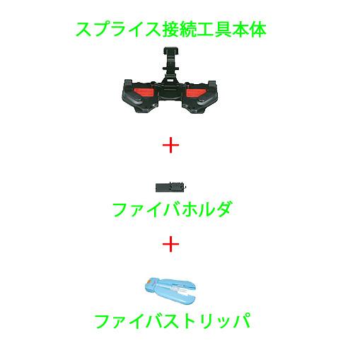 〔送料無料〕 3M ファイバロック ライト 接続キット (スイッチキットプラス) 4FL-CLP (接続工具+ホルダ+ファイバストリッパ)