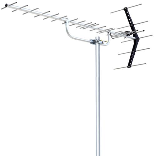 DXアンテナ オールチャンネル ステンレス UHF20素子アンテナ UA20S (中・弱電界用)