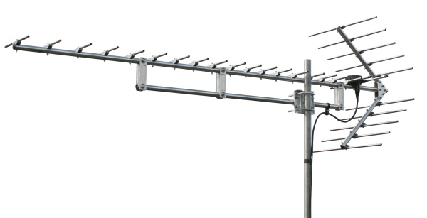 マスプロ 高性能型 共同受信用 UHFアンテナ 20エレメント (ステンレス製) USK20TMH