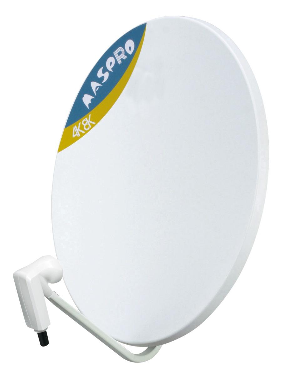マスプロ 4K・8K衛星放送(3224MHz)対応 BS・110°CSアンテナ 60cm BC60RL (右左旋円偏波対応)