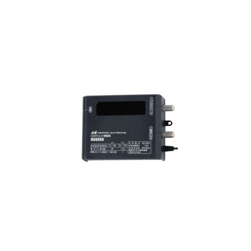 日本アンテナ 卓上型 CATV端末補償用 上りブースター NDBU60 (縦置・横置兼用)(NDB-U770 後継機種)