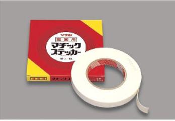 〔まとめ買いお得〕 マサル工業 テープ類 壁面用マヂックステッカー 10mm 10KMS 10本
