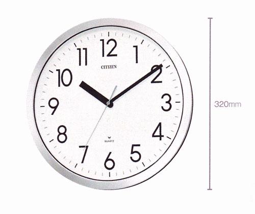 「スーパーセールポイント5倍」壁掛け時計 シチズン 掛時計 4MG522-050 電波時計ではないです 文字入れ対応、有料 取り寄せ品