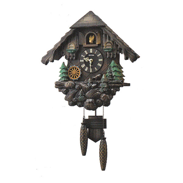 はとトケイ ハト時計 壁掛け時計 カッコーヴァルト リズム時計 RHYTHM 掛時計 4MJ422SR06 文字名入れ不可 取り寄せ品