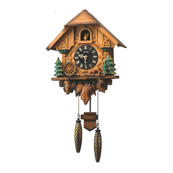 「スーパーセールポイント5倍」はとトケイ ハト時計 壁掛け時計 カッコーティンバー リズム時計 RHYTHM 掛時計 4MJ423SR06 文字名入れ不可 取り寄せ品