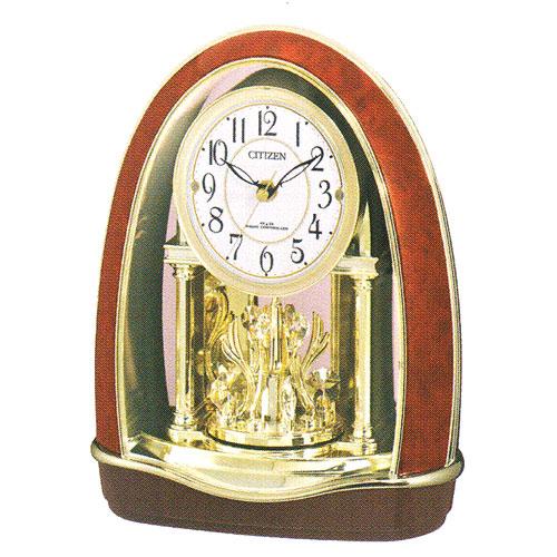 「スーパーセールポイント5倍」置き時計 シチズン 電波時計 CITIZEN メロディ置時計 パルドリーム 4RN414-023 贈り物に文字入れ対応《有料》 取り寄せ品