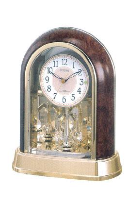 「スーパーセールポイント5倍」置き時計 シチズン 電波時計 CITIZEN 電波置時計 パルドリーム 4RY656-023 記念品に文字入れ対応《有料》 取り寄せ品