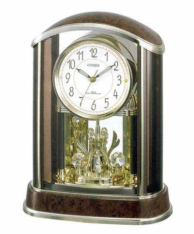 「スーパーセールポイント5倍」置き時計 シチズン CITIZEN 電波時計 パルアモール R658N 4RY658-N23 文字入れ対応《有料》 取り寄せ品