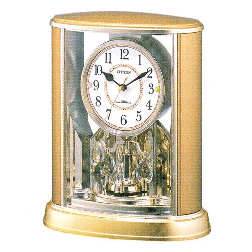「スーパーセールポイント5倍」置き時計 シチズン 電波時計 CITIZEN 電波置時計 パルドリーム 4RY659-018 文字入れ対応、有料 取り寄せ品
